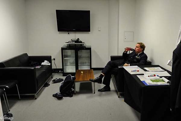 Harry Redknapp in der Trainerkabine Wembley
