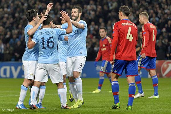 In der letzten CL-Saison gewann Manchester City beide Partien gegen ZSKA Moskau – 2:1 auswärts und 5:2 im Etihad.