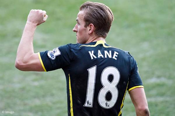 Doppelpacker Harry Kane schraubte sein Torekonto auf 16 Treffer in die Höhe.